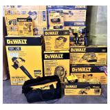 New DeWalt tools