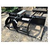 66 inch flat bottom grapple bucket