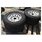 New Trailer Tires