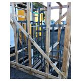 New Cotterman Ladder W/ Safety Cage