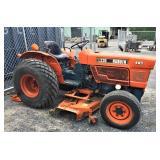 Kubota L235 Tractor W/ Belly Mower