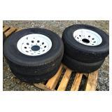 New ST 235/80R16 Trailer Tires