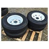 New ST 225/75R15 Trailer Tires