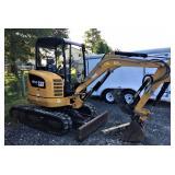 CAT 302.7D CR Mini Excavator. Dispersal