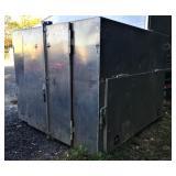 8ftX 8ftx 6ft Tall Aluminum Job Box. Dispersal