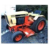Case 446 Tractor W/ Mower Deck