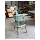 BENTWOOD BACK HIGH CHAIR