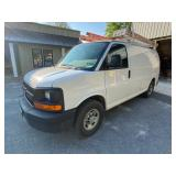 2007 Chevy Express work van w/ladder rack, 178k miles