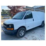 2007 Chevy Express work van w/ladder rack, 236k miles
