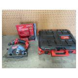 Assorted Milwaukee tools