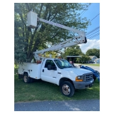 2000 F450 bucket truck, 43' working height, 130k miles