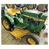 John Deere 110 lawn tractor w/mower deck & lights
