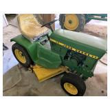 John Deere 110 lawn tractor with mower deck