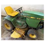 John Deere 212 lawn tractor with mower deck