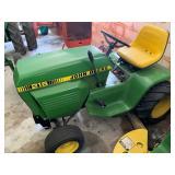 John Deere 216 lawn tractor