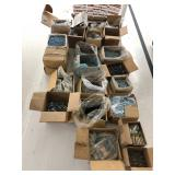 large amount of assorted screws & fastners