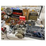 Used power tools, heater, used hand tools