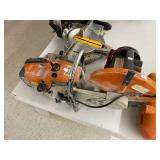 Stihl TS400 concrete saw