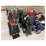 Ironton hand carts, 15 gal air compressors, Homak parts washer