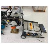 Mikasa wacker tamper, Ryobi table saw