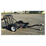 Toro ride-on aerator trailer/ cart