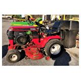 Toro Wheel Horse riding mower w/ bagger