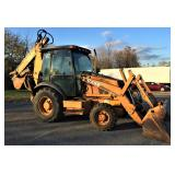 Case Super M Backhoe