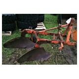 Allis Chalmers 2 bottom 3pt Hitch Plow