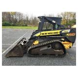 New Holland C175 Track Skidloader