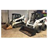 3-Bobcat Skid loaders