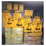 8 - Dewalt Area lights