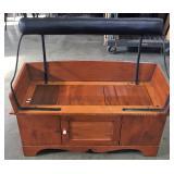 BUCKBOARD SEAT CABINET