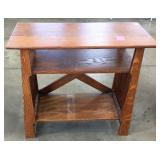 QUARTER SAWN MISSION OAK TABLE