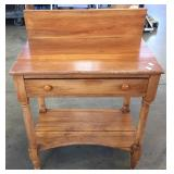OPEN WASHSTAND WITH TURNED LEG