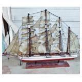 RETRO MODEL SHIP