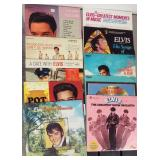 ASSORTED 33 RPM ELVIS RECORDS