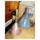 COPPER & AGATE FUNNELS