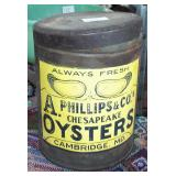 TIN OYSTER CAN