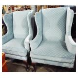 QUEEN ANNE UPHOLSTRY CHAIRS
