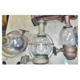 GLASS ONION GLOBE LAMPS