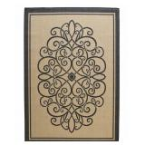 8x11 ft Iron Gate Indoor/Outdoor Area Rug