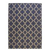Trellis Reversible/Cape Cod 5x7ft Area Rug