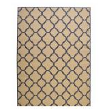 Trellis Reversible/Cape Cod Blue 7x5 Area Rug