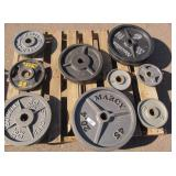 15x barbell weights