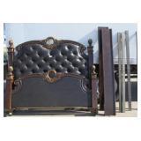King Benroom Bed - Head/Foot Board and Rails