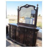 Mirrored Dresser 39x68