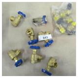 12x Water Shutoff Valves