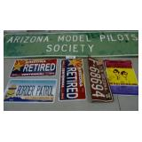 Metal Signs & License Plates