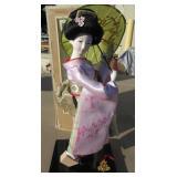 Japanese Geisha Kimono Doll 12in