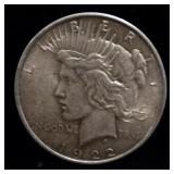 1922 P US Peace Dollar